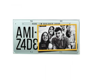 Porta-retrato-10x15-placa-da-amizade