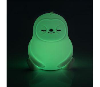 Luminaria-de-mesa-touch-de-silicone-bicho-preguica