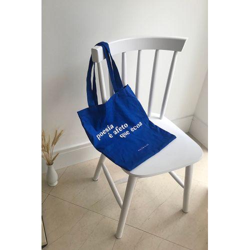 Bolsa Algodão - Azul