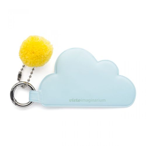 Chaveiro-com-pompom-nuvem