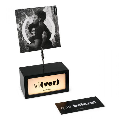 Porta-retrato-troca-de-texto-em-mdf-preto