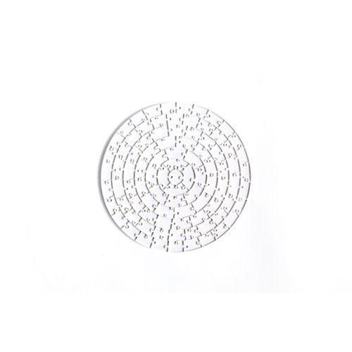 Quebra-Cabeça Transparente Nível Insano (91 Peças) Redondo