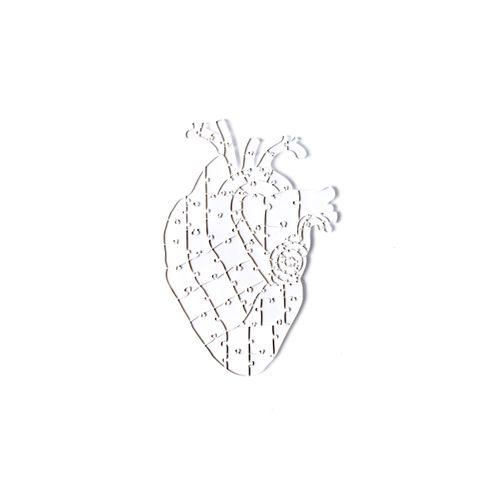 Quebra-Cabeça Transparente  Heart  (65 peças)