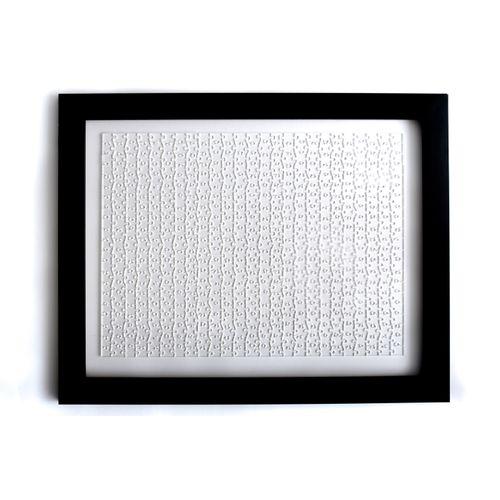 Kit Quebra-Cabeça 525 peças + Moldura Preta