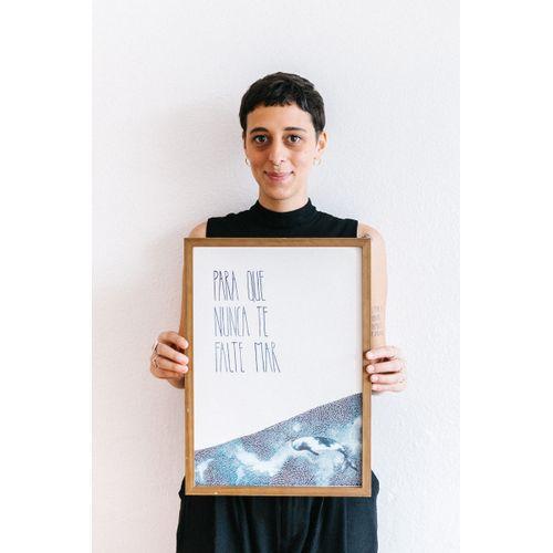 Print Para que Nunca Te Falte Mar