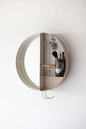 Porta-bijoux-metal-redondo-de-parede