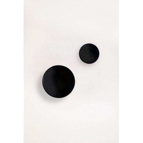 Conjunto-de-dois-ganchos-de-parede-preto