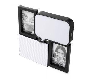 Porta-retrato-luminaria-para-2-fotos-com-painel-de-recados