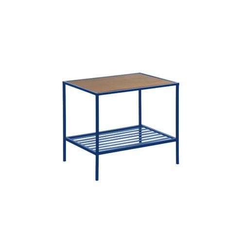 Mesa Lateral Grid Azul