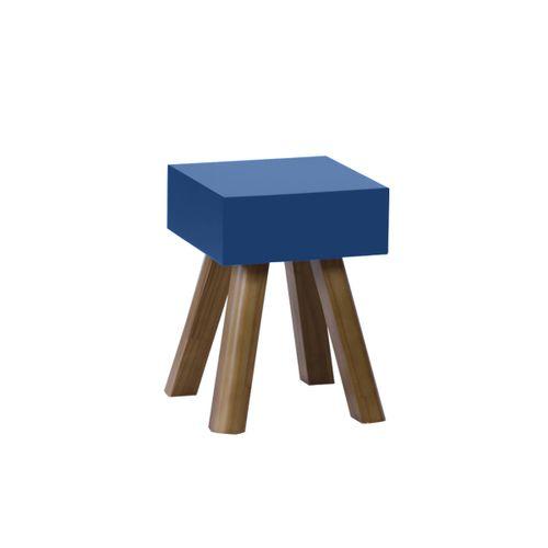 Banqueta Cubo Azul