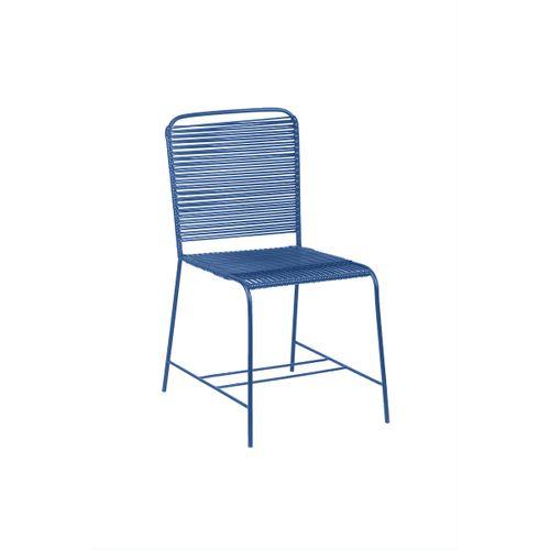 Cadeira Wire Azul
