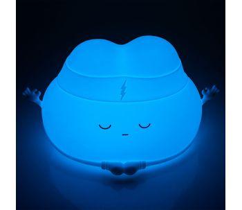 Luminaria-de-mesa-led-em-silicone-nuvem