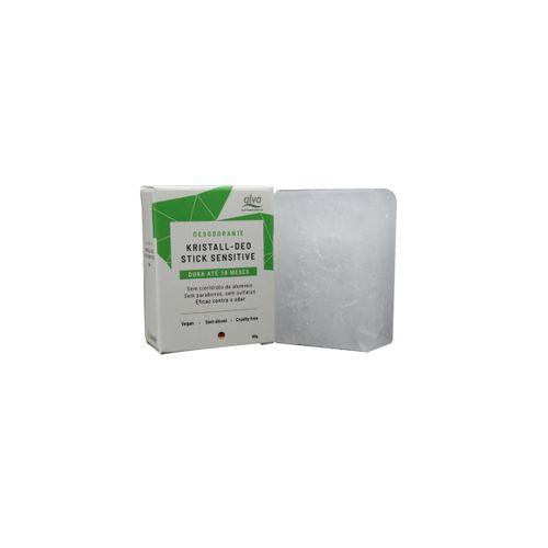Refil Desodorante Vegano Stone Kristall Sensitive 90g