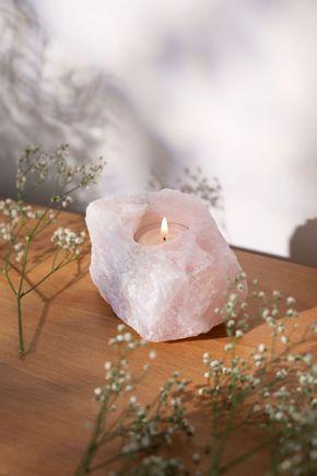 Porta-vela-quartz