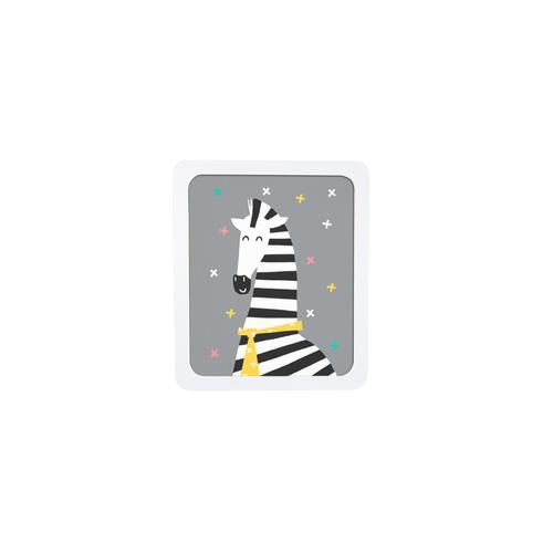 Quadro Infantil Zebra
