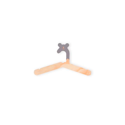 Cabide de Roupa Infantil Urso 3 Unidades