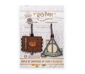 Dupla-de-Chaveiros-HP-Livro-e-Reliquias