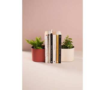 Porta-livros-cachepot-terracota