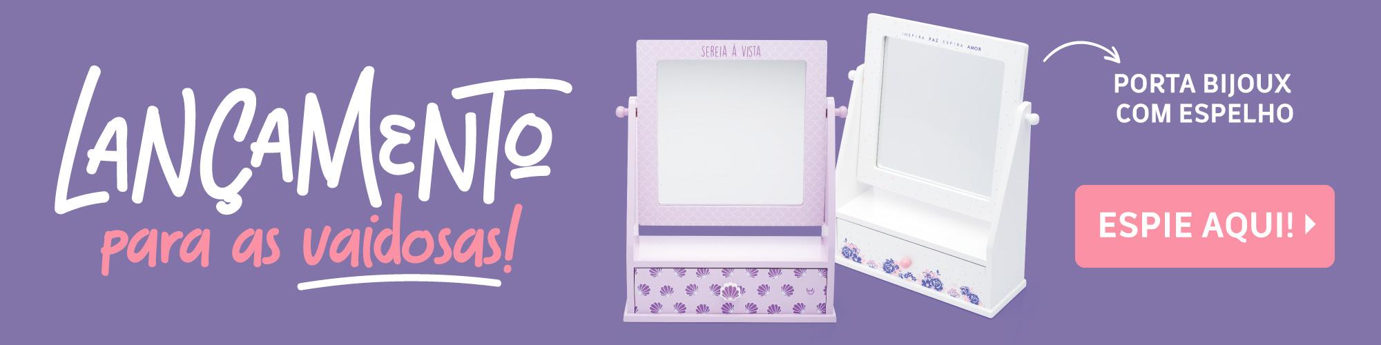 A - Porta-bijoux Espelho