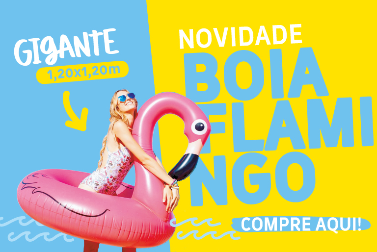 A - Boia Flamingo
