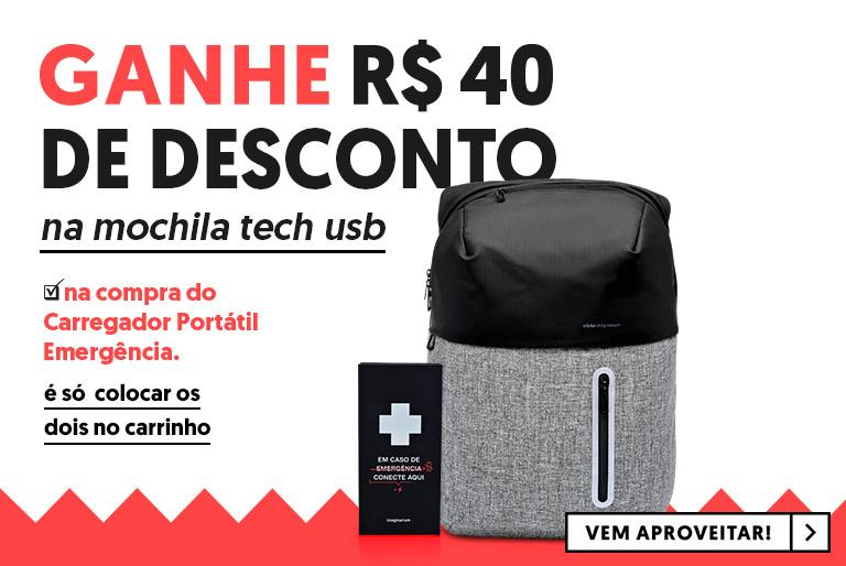 A - Promo mochila tech
